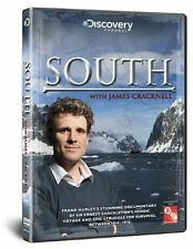 DISCOVERY CHANNEL Stunning Epic Documentary SOUTH With JAMES CRACKNELL DVD