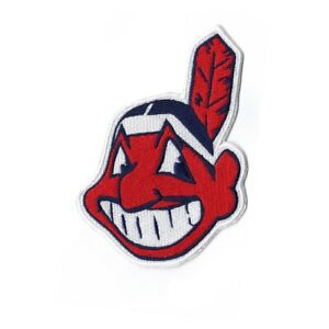 Cleveland Indians Chief Wahoo Home Road Alternate Jersey Sleeve Patch