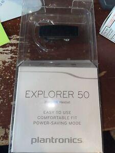 Plantronics Explorer 50 Bluetooth Headset Background noise cancelation - Black