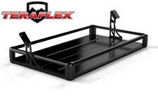 TeraFlex Rear Utility Cargo Rack - Black for 2007-2017 Jeep Wrangler JK 4 Door