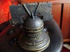1976 Anniversary Bicentennial Sperry New Holland Bronze Liberty Bell Coin Bank