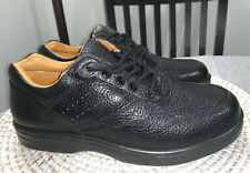Dr. Comfort Patty Black Pebbled Leather Lace Up Oxford Comfort Shoe 9 W $139 New