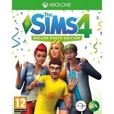 The Sims 4 Deluxe Party Edition Xbox One Xb1 UK Delivery