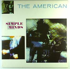 "12"" LP-SIMPLE MINDS-The American-m736-Slavati & cleaned"
