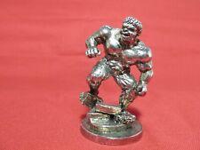 Pewter Warrior Figurine