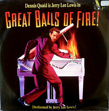 """7"""" 1989 OST RI Comme neuf-JERRY LEE LEWIS Great balls of fire"""