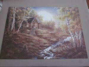 ROSEART THE PUZZLE COLLECTION 750 PC JIG SAW PUZZLE WOLF CREEK