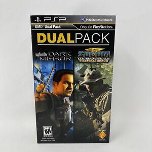 UMD Dual Pack: Syphon Filter: Dark Mirror + Socom: U.S. Navy Seals PSP Complete