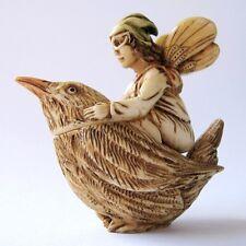 MPS Harmony Kingdom - Good Faerie - Small Fairy on Bird Box Figurine #12: Wheaff