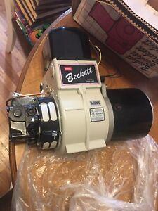 Beckett AL-191722 Oil Burner, Model AFG, Oil Boiler, Furnace,