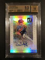 Daniel Murphy 2015 Donruss Signature Series #44 BGS 9.5 Auto 10 Mets Nationals