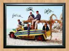 The Beach Boys Signed Autographed A4 Print Poster Photo Autograph Band Group cd