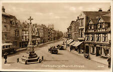 Tewkesbury. Church Street # 73690 by Frith. Bus.