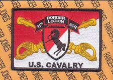 11th ACR Armored Cavalry Regt BORDER LEGION pocket patch