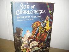 Son of Charlemagne/ Barbara Willard/ jacket/ HB/Weiss/Rome/ 1959