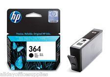 2x Original Genuine HP 364 Black Ink Cartridges for Photosmart 5510 Printer