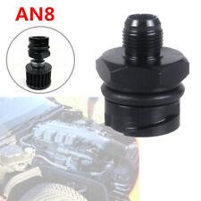 For LSX LS1/LS6/LS2/LS3/LS7 Billet Engine Black Valve Cover Oil Filler Cap AN 8