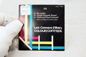 """81B Lee Camera Filter Sqaure 75X75mm 3X3"""""""