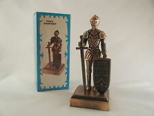 KNIGHT IN ARMOUR DIECAST PENCIL SHARPENER New Antique Finish Novelty
