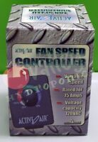 DUCT FAN SPEED CONTROLLER In-Line Centrifugal Fans Adjuster Hydrofarm 15 AMP