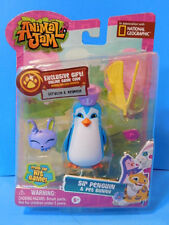 Animal Jam Pet With Online Game Code  Sir Penguin and Pet Bunny New!