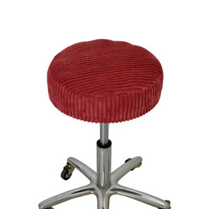 Elastic Round Bar Stool Seat Cover Chair Protector Barstool Cover 12-16 Inch