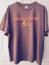 Sturgis T-Shirt Bike Week 2006 size XL Brown