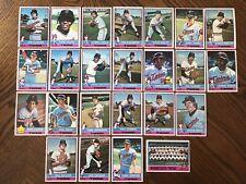 1976 MINNESOTA TWINS Topps COMPLETE Baseball Team SET 24 Cards CAREW OLIVA FORD