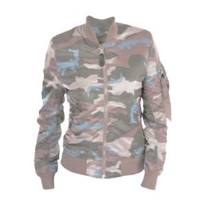 Alpha Industries MA 1 VF LW Flight Jacket Women's Pink Blue Green Outwear