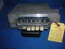 1962 MERCURY  AM PUSH BUTTON RADIO