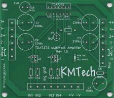 Calidad TDA7375 basado mono amplificador Multiwatt multiconfig! PCB Solo hágalo usted mismo