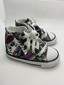 Converse Toddlers Batman Dc Shoes Size 4 #767306f (aa97)