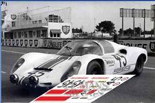 Calcas Porsche 910 Le Mans 1968 45 1:32 1:43 1:24 1:18 slot decals