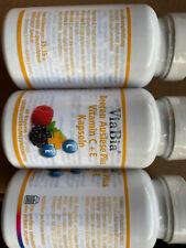 Posten 3x ViaBia Beeren Auslese Plus Vitamin C + E Nahrungsergänzung 123.tv MHD