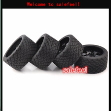4X 17mm Hex Tyre Wheels Tires& Rims For 1:8 RC Model Bigfoot On-Road Car Kforce