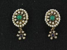 Classic Italian ORNELLA Clip-on Pendant Earrings (ER698)