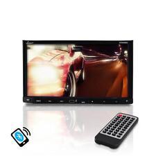 "Lanzar SDN698BX 7"" Double DIN DVD Bluetooth CD AM/FM AUX Receiver Monitor"