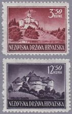 Kroatien 1943 Mi.Nr. 98-99 A postfrisch
