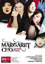 Margaret Cho - Cho's Box (DVD, 2011, 5-Disc Set) New  Region Free