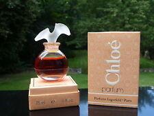 Flacon - CHLOE de K. LAGERFELD - Parfum 7,5 ml  Plein - Coffret - Perfume Bottle