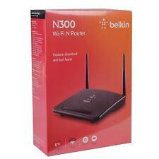 NEW Belkin F9K1010 300Mbps Wireless-N Internet 300 4 Port Router w/ 2 Antennas