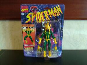 """Marvel Comics Spiderman ~ Retro 6""""Inch Electro Action Figure ~ Hasbro (New)"""