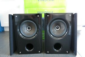 "Insignia NS-B2111 6.5"" Coaxial Bookshelf Speaker Pair 120 Watts"