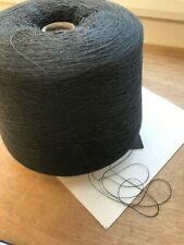Negro Con Blanco 100/% Algodón Tejido//Craft//Máquina Hilo De Punto 1//4NM