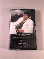 Michael Jackson Thriller Cassette Tape