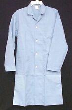Lab Jacket Coat Ceil Blue XS Medical Uniform Straight Back Unisex New