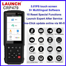 LAUNCH CRP479 Android OBDII Diagnostic Scanner Oil DPF Reset ABS Bleed Injector