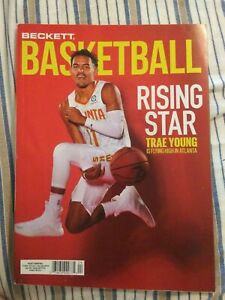 BECKETT BASKETBALL MONTHLY PRICE GUIDE CARD MAGAZINE APRIL 2020 TRAE YOUNG