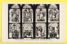 CPA 03 - Cathédrale de MOULINS VITRAIL de l' ÉGLISE MILITANTE Les Croisades