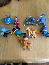 lot of 9 2007 jakks pokemon nintendo 3 1/4 inch figures